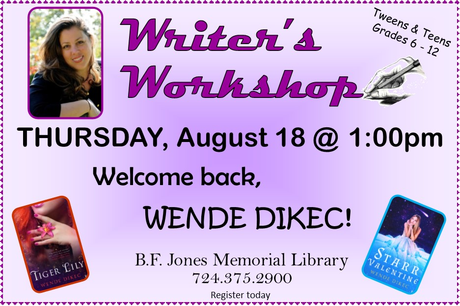2016 - Writers Workshop August