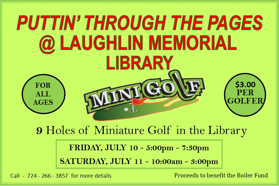 Puttin' Through the Pages - Mini-Golf at the Library