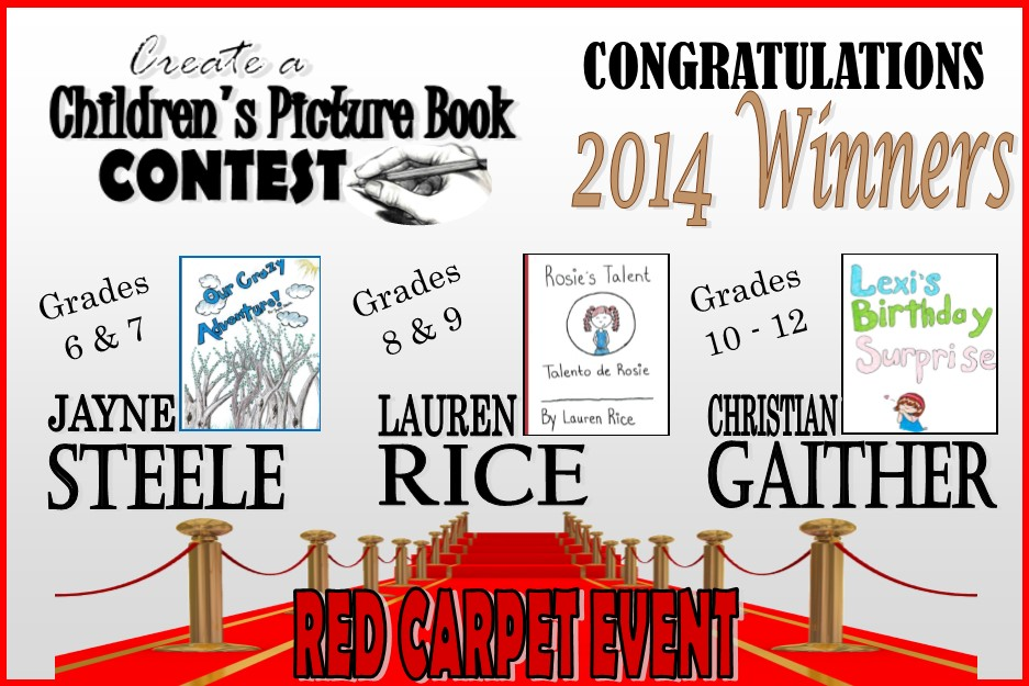 Children's Books Contest Winners!