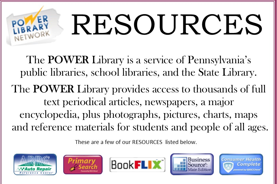 Power Library Resources