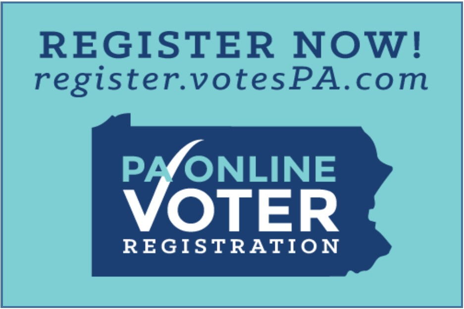 Register To Vote PA!