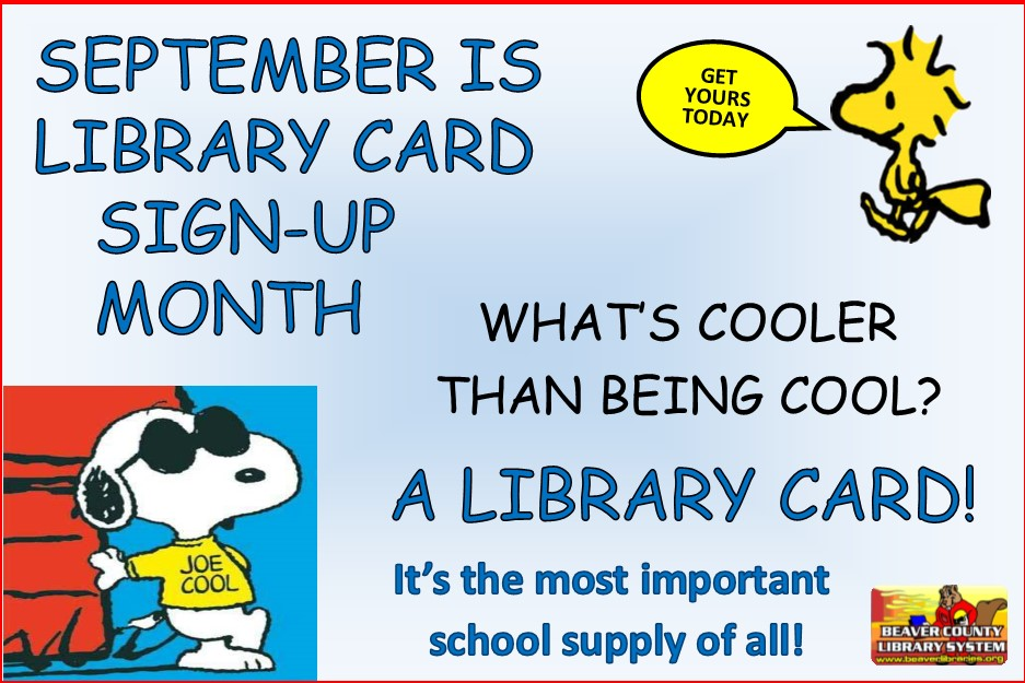 2016 - Library Card Signup Month