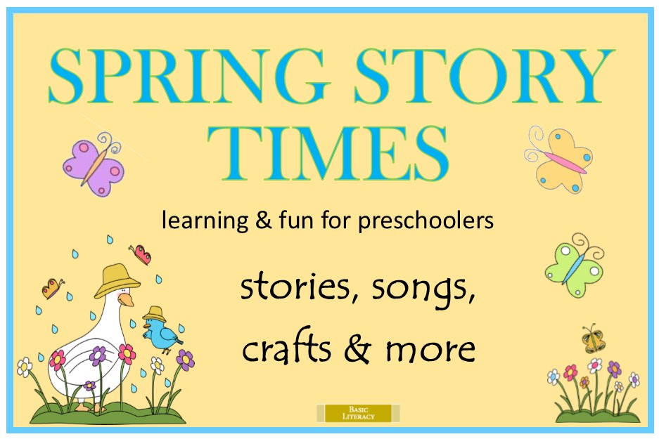 2016 Spring Story Time