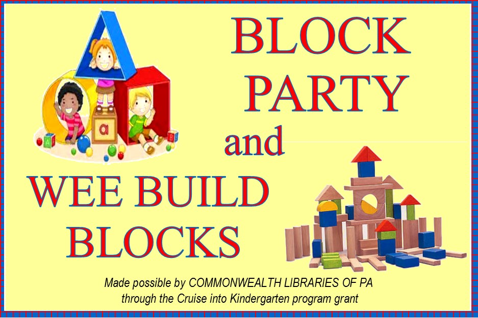 2016 - Wee Build and Block Parties