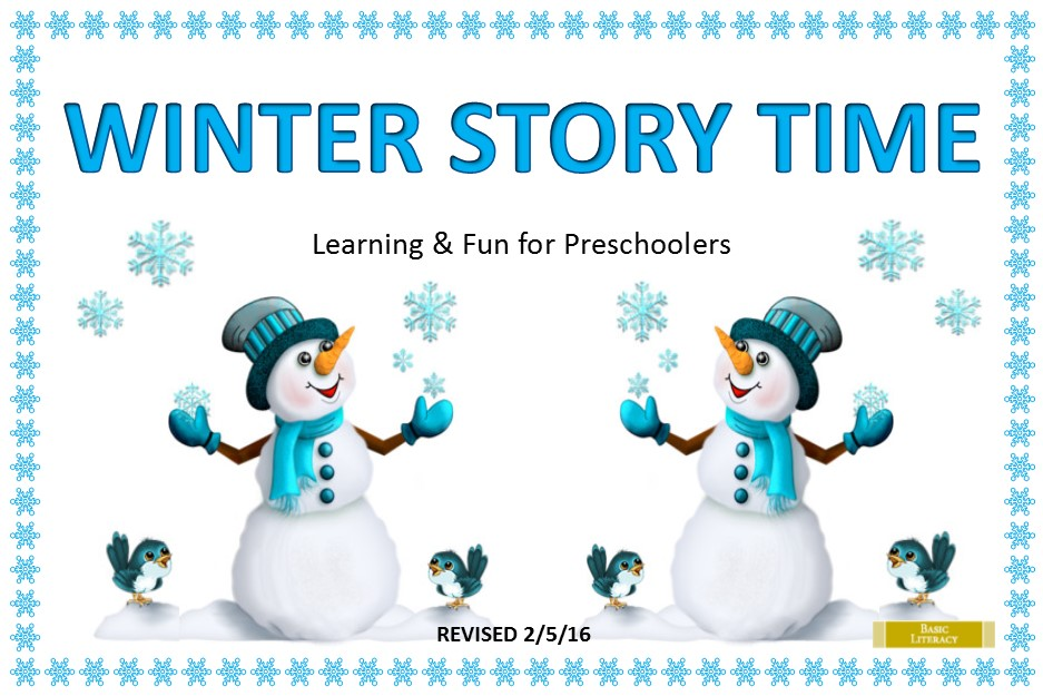 2016 Winter Story Time