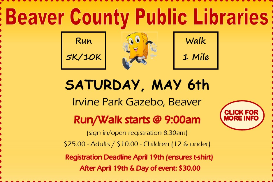 Beaver County Library Run Walk