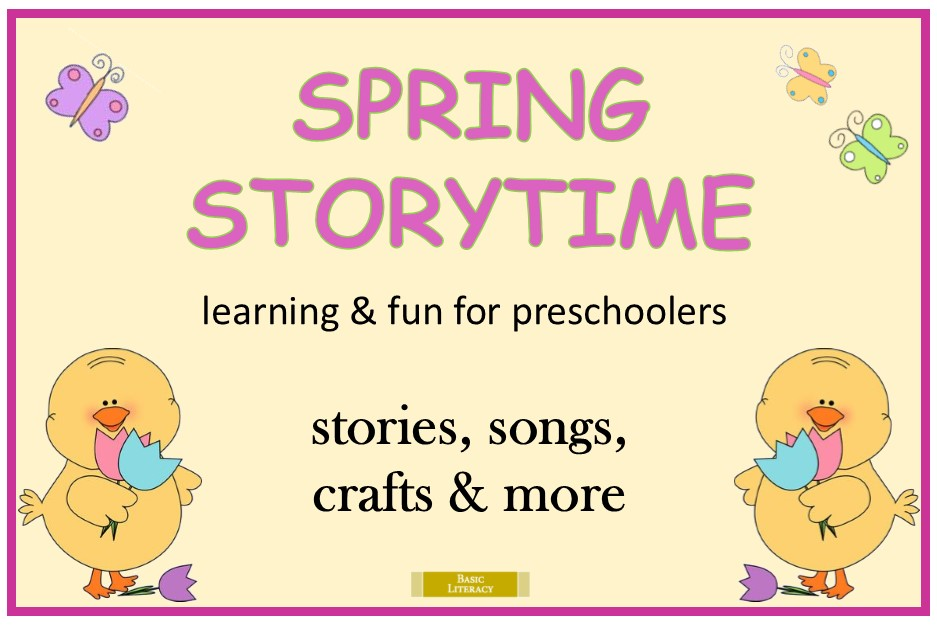 Spring Story Times 2020