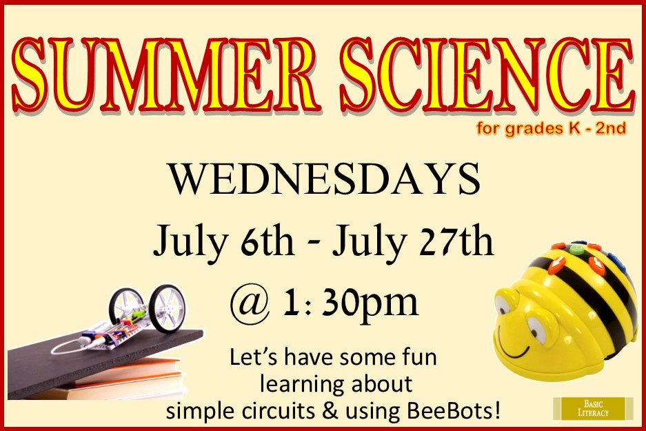 2016 Summer Science for Kids