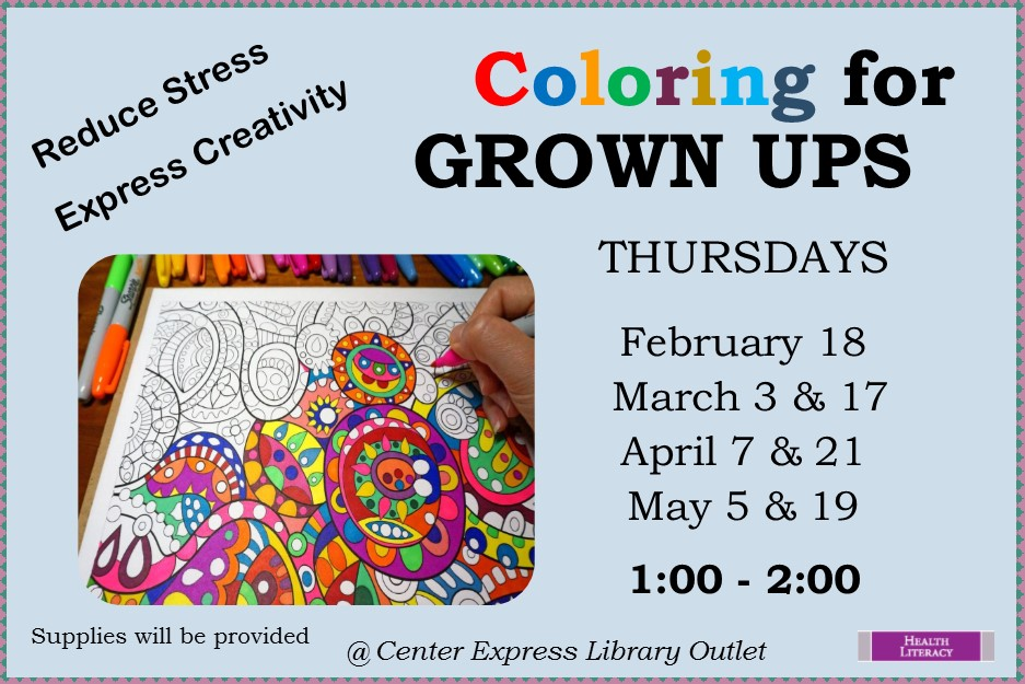 Adult Coloring Books - Thursdays