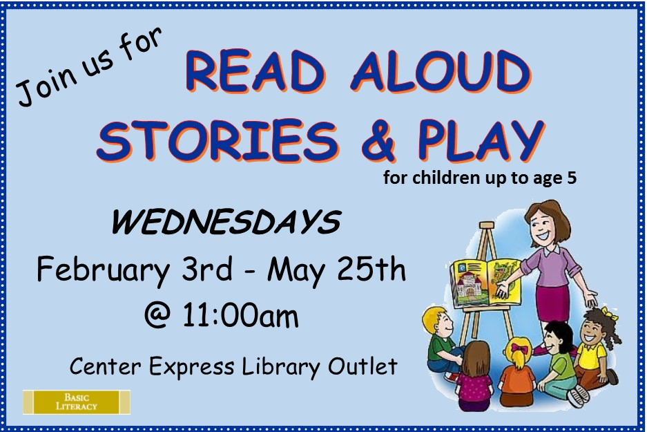 Read Aloud Stories and Play - Wednesdays
