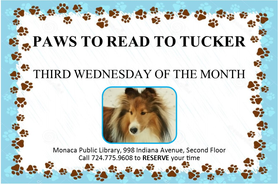 2018 PAWS to Read to Tucker